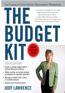 """The Budget Kit"""" Table of Contents - Money Tracker"""